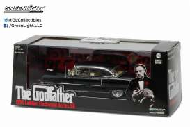 Cadillac  - Fleetwood series 60 Godfather 1955 black - 1:43 - GreenLight - 86492 - gl86492 | Toms Modelautos