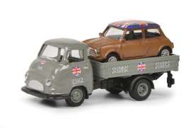 Hanomag  - grey/brown - 1:87 - Schuco - 26490 - schuco26490 | Toms Modelautos