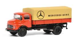Mercedes Benz  - red - 1:87 - Schuco - 26497 - schuco26497 | Toms Modelautos