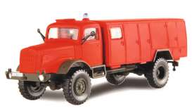 Mercedes Benz  - red - 1:87 - Schuco - 26496 - schuco26496 | Toms Modelautos