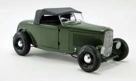 Ford  - Hot Rod *Pork Chops* 1932 olive drab - 1:18 - Acme Diecast - 1805018 - acme1805018 | Toms Modelautos