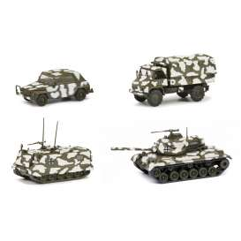 Military Vehicles  - camouflage - 1:87 - Schuco - 26530 - schuco26530 | Toms Modelautos
