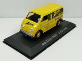 DKW  - Frontal 1954 yellow - 1:43 - Magazine Models - SER09 - magSER09 | Toms Modelautos