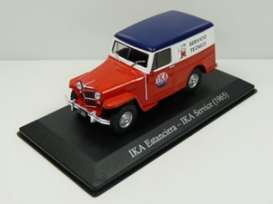 Ikarus  - Estanciera 1960 red/blue/white - 1:43 - Magazine Models - SER10 - magSER10 | Toms Modelautos
