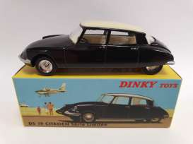 Citroen  - DS 19 black - 1:43 - Magazine Models - DT1083163 - magDT1083163 | Toms Modelautos