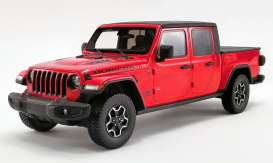 Jeep  - Gladiator 2019 red - 1:18 - Acme Diecast - US024 - GTUS024 | Toms Modelautos