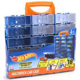 Hotwheels Car Cases  - blue/orange - 1:64 - Hotwheels - HWCC8B - hwmvHWCC8B | Toms Modelautos