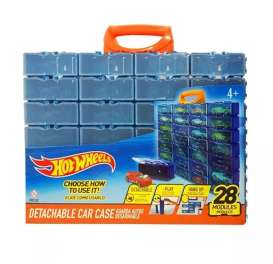 Hotwheels Car Cases  - blue/orange - 1:64 - Hotwheels - HWCC8C - hwmvHWCC8C | Toms Modelautos