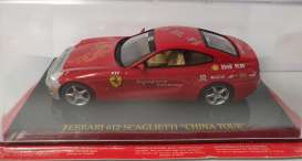 Ferrari  - red - 1:43 - Magazine Models - Fer612 - MagkFer612China | Toms Modelautos
