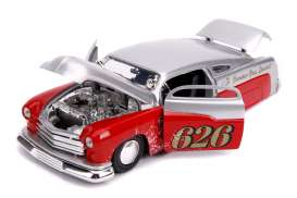 Mercury  - 1951 candy silver/red - 1:24 - Jada Toys - 31454 - jada31454 | Toms Modelautos