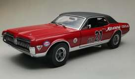 Mercury  - Cougar Racing #21 1967 red/blue - 1:18 - SunStar - 1583 - sun1583 | Toms Modelautos