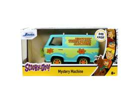 Scooby Doo  - Mystery Machine light blue/green - 1:32 - Jada Toys - 32040 - jada32040 | Toms Modelautos