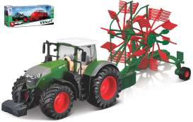 Fendt  - 1050 Vario green/red - 1:32 - Bburago - 31665 - bura31665 | Toms Modelautos