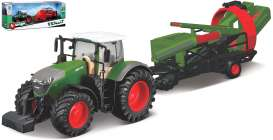 Fendt  - 1050 Vario green/red - 1:32 - Bburago - 31666 - bura31666 | Toms Modelautos