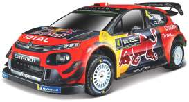 Citroen  - WRT 2019 red/blue/yellow - 1:32 - Bburago - 41053 - bura41053 | Toms Modelautos