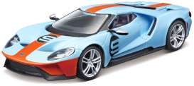 Ford  - blue/orange - 1:32 - Bburago - 42028 - bura42028 | Toms Modelautos