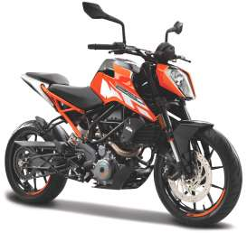 KTM  - 250 Duke orange/black - 1:18 - Bburago - 51083 - bura51083 | Toms Modelautos