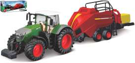 Fendt  - 1050 Vario green/red - 1:32 - Bburago - 31663 - bura31663 | Toms Modelautos