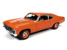 Chevrolet  - Nova SS 396 1970 orange - 1:18 - Auto World - AMM1226 - AMM1226 | Toms Modelautos