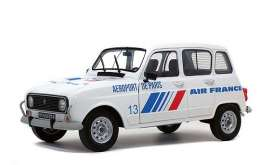 Renault  - 4L GTL 1978 white/blue/red - 1:18 - Solido - 1800108 - soli1800108 | Toms Modelautos