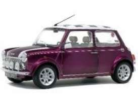 Mini  - Cooper 1997 purple - 1:18 - Solido - 1800606 - soli1800606 | Toms Modelautos