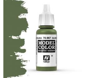 Paint Accessoires - olive green - Vallejo - val70967 - val70967 | Toms Modelautos