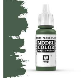 Paint Accessoires - flat green - Vallejo - val70968 - val70968 | Toms Modelautos