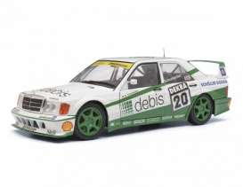Mercedes Benz  - 190 E white/green - 1:18 - Solido - 1185230 - soli1185230 | Toms Modelautos