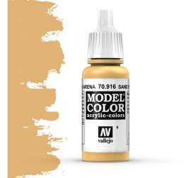 Paint Accessoires - sand yellow - Vallejo - val70916 - val70916 | Toms Modelautos