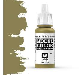 Paint Accessoires - dark yellow - Vallejo - val70978 - val70978 | Toms Modelautos