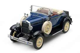 Ford  - Model A  1931 blue - 1:18 - SunStar - 6125 - sun6125 | Toms Modelautos