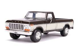 Ford  - F-100 1979 brown/creme - 1:24 - Jada Toys - 31588 - jada31588 | Toms Modelautos