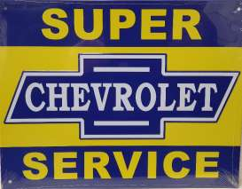 Metal Signs  - blue/yellow - Metal Signs - chevrolet - MsChevrolet | Toms Modelautos