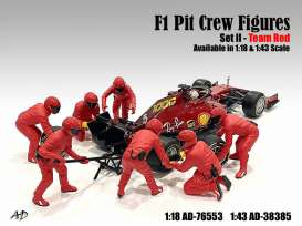 Figures diorama - 2020 red - 1:18 - American Diorama - 76553 - AD76553 | Toms Modelautos