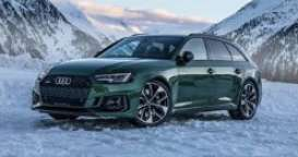 Audi  - RS4 2020 green - 1:18 - GT Spirit - GT296 - GT296 | Tom's Modelauto's