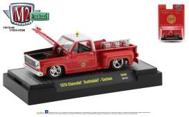 Chevrolet  - Scottsdale 1979 red/white - 1:64 - M2 Machines - 31500HS06 - M2-31500HS06 | Toms Modelautos