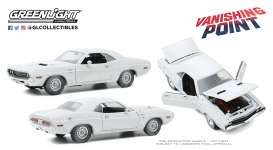Dodge  - Challenger 1970 white - 1:18 - GreenLight - 13582 - gl13582 | Toms Modelautos