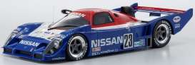Nissan  - R91CP blue/white/red - 1:12 - Kyosho - KSR08666A - kyoKSR8666A | Toms Modelautos