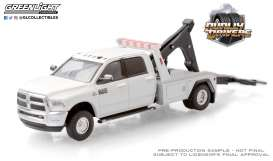 Ram  - 3500 2018 white - 1:64 - GreenLight - 46050C - gl46050C | Toms Modelautos