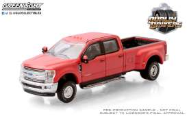 Ford  - F-350 2019 red - 1:64 - GreenLight - 46050E - gl46050E | Toms Modelautos