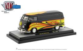 Volkswagen  - 1960 black/yellow - 1:24 - M2 Machines - 40300-77B - M2-40300-77B | Toms Modelautos