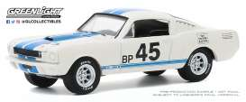 Shelby  - GT350R 1965 white - 1:64 - GreenLight - 28040A - gl28040A | Toms Modelautos