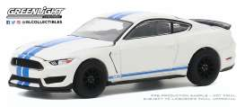 Ford Shelby - 2020 white/blue - 1:64 - GreenLight - 28040F - gl28040F | Toms Modelautos