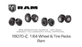 Wheels & tires Rims & tires - 1:64 - GreenLight - 16070C - gl16070C | Toms Modelautos