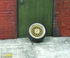 Rims & tires Wheels & tires - 1:24 - Scale Production - SPRF24130 | Toms Modelautos
