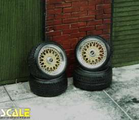 Rims & tires Wheels & tires - 1:24 - Scale Production - SPRF24146 | Toms Modelautos