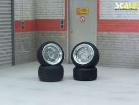 Rims & tires Wheels & tires - 1:24 - Scale Production - SPRF24110 | Toms Modelautos