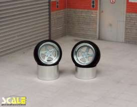 Rims & tires Wheels & tires - 1:24 - Scale Production - SPRF24118 | Toms Modelautos