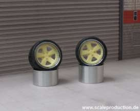 Rims & tires Wheels & tires - 1:24 - Scale Production - SPRF24072 | Toms Modelautos