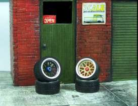 Rims & tires Wheels & tires - 1:24 - Scale Production - SPRF24129 | Toms Modelautos